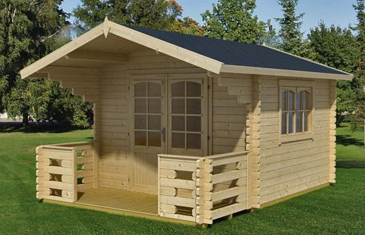 Installer un chalet en bois dans son jardinBois extension # Chalet En Bois Pour Jardin